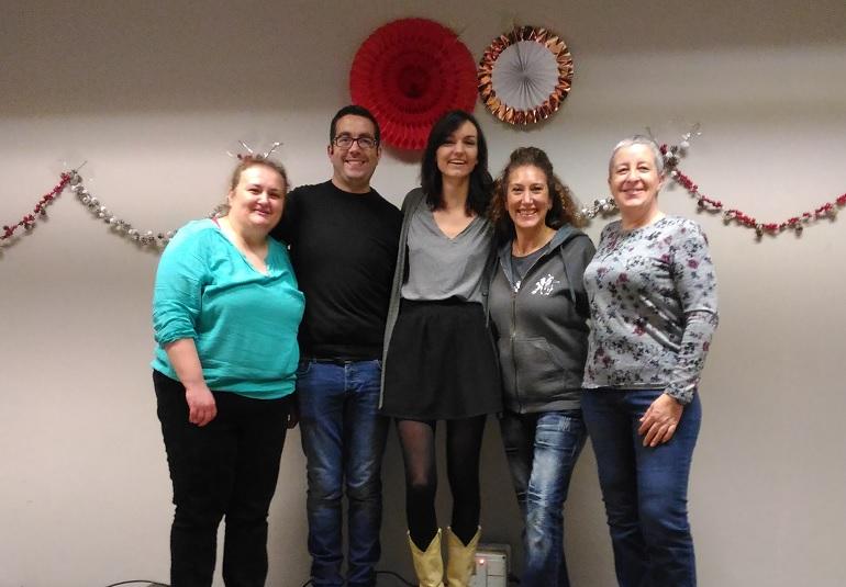 Workshop avec Kate Sala le 16 décembre 2017