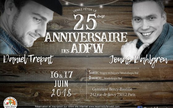 Le festival de nos 25 ans avec Daniel et Jonas !
