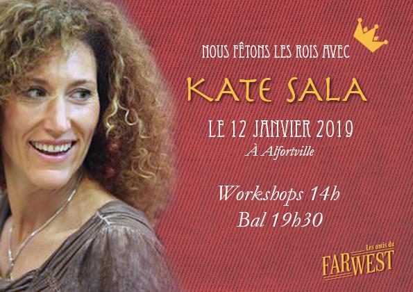 Kate Sala le 12 janvier 2019