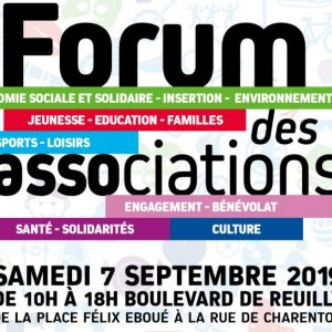 Forum des associations le 7 Septembre 2019