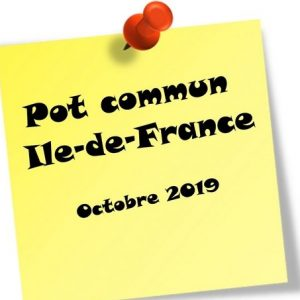 Pot commun Ile-de-France – Octobre 2019