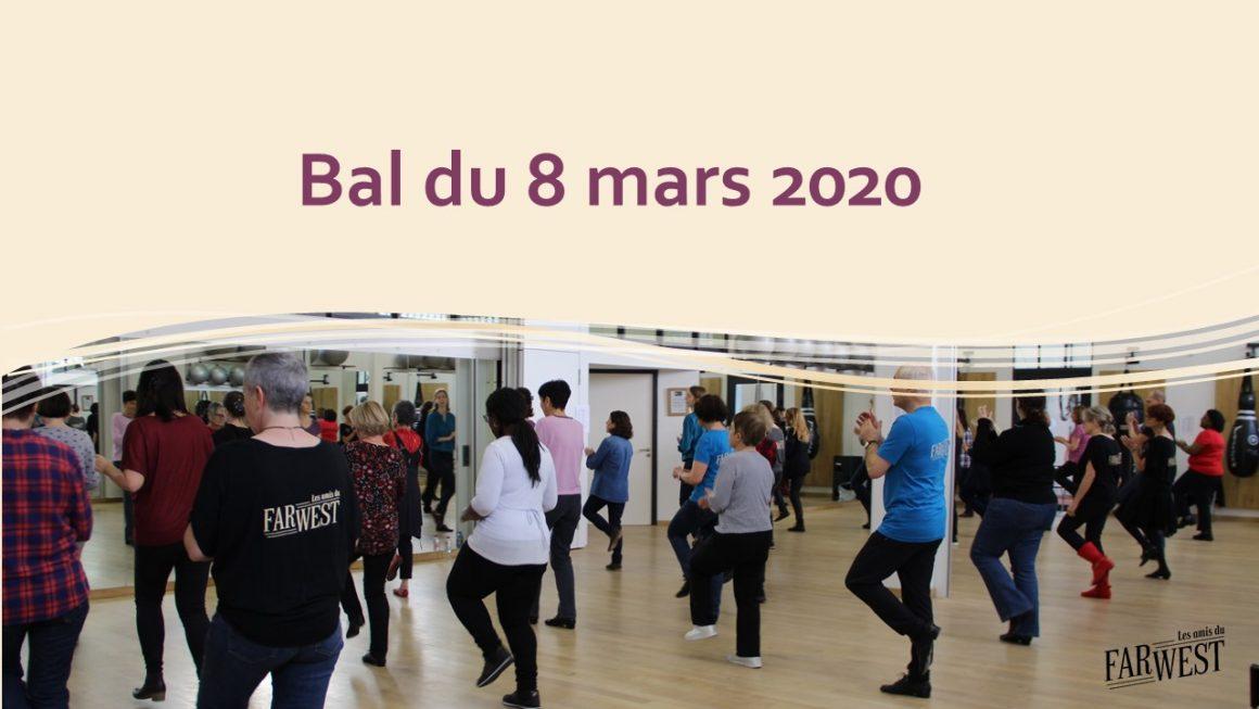 Bal adhérents – Dimanche 8 mars 2020