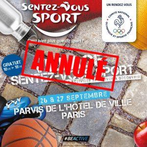 Animation au Village Sentez-Vous Sport le 27 Septembre 2020 – ANNULE