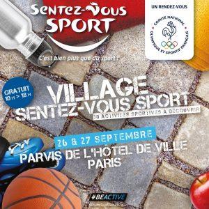 Animation au Village Sentez-Vous Sport le 27 Septembre 2020