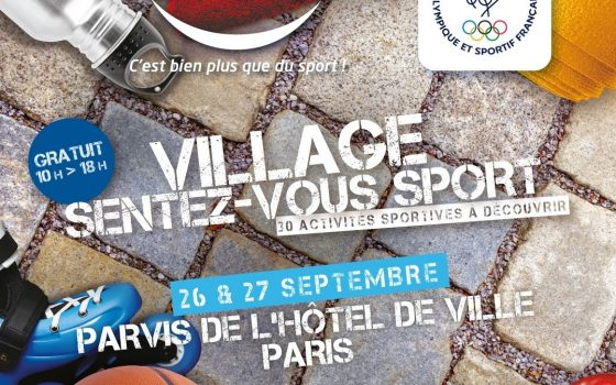 Animation au Village Sentez-Vous Sport le 27 Septembre 2020